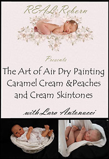 REAL Reborn: The Art of Air Dry Painting