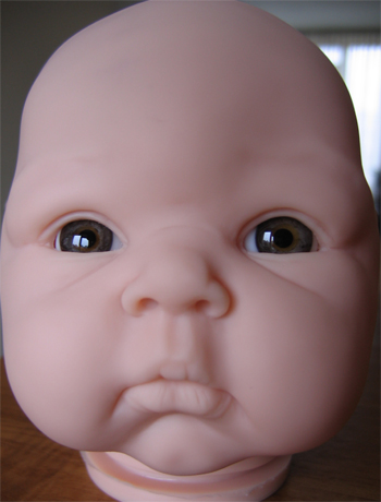 Mouth blown doll eyes. Color: ANTIQUE GREY