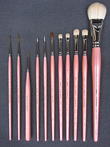 Baby Strokes Reborn Artist 11 Pc. Brush Set