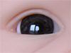 Mouth blown doll eyes. Color: ANTIQUE